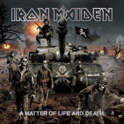 Iron Maiden - Matter Of Life And Death CD Cover Art