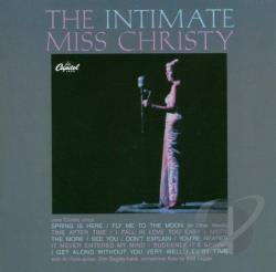 Christy, June - Intimate Miss Christy CD Cover Art