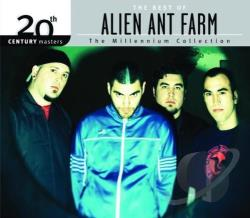 Alien Ant Farm - 20th Century Masters - The Millennium Collection: The Best of Alien Ant Farm CD Cover Art