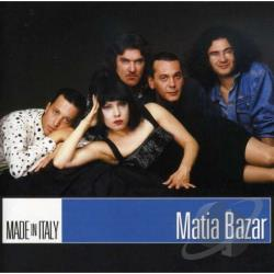 Bazar, Matia - Made in Italy CD Cover Art