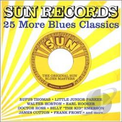 Sun Records: 25 More Blues Classics CD Cover Art