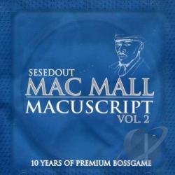 Mac Mall - Macuscripts, Vol. 2 CD Cover Art