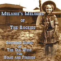 Melanie - Melanie's Melodies of the Rockies CD Cover Art