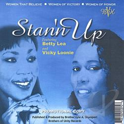 Lea, Betty - Stan'n Up CD Cover Art