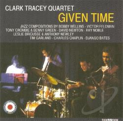 Tracey Clark Quartet - Given Time CD Cover Art