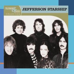 Jefferson Starship - Platinum & Gold Collection CD Cover Art