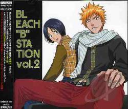 Bleach B Station-Vol.2 - Animation Soundtrack CD Cover Art