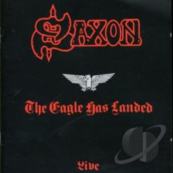 Saxon - Eagle Has Landed CD Cover Art