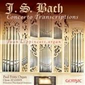 Lippincott, Joan - Bach: Concerto Transcriptions DB Cover Art