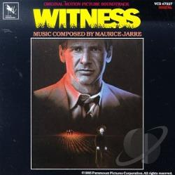 Jarre, Maurice / Original Soundtrack - Witness CD Cover Art
