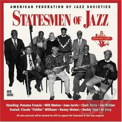 Statesmen Of Jazz - Statesmen of Jazz CD Cover Art