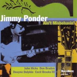 Ponder, Jimmy - Ain't Misbehavin' CD Cover Art