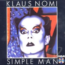 Nomi, Klaus - Simple Man CD Cover Art