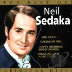 Sedaka, Neil - Best Of Neil Sedake CD Cover Art