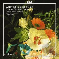 Stolzel, G.H. - Gottfried Heinrich St�lzel: German Chamber Cantatas, Vol. 2 CD Cover Art