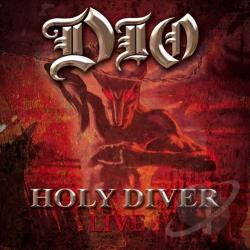 Dio - Holy Diver Live CD Cover Art