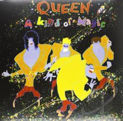 Queen - Kind of Magic LP Cover Art