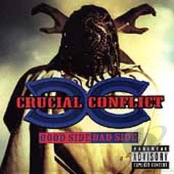 Crucial Conflict - Good Side, Bad Side CD Cover Art