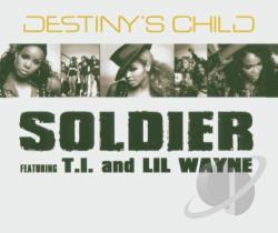 Destiny's Child - Soldier CD Cover Art