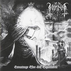 Horna - Envaatnags Eflos Solf Esgantaavne CD Cover Art