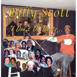 Scott, Billy - I Don't Do Duets CD Cover Art