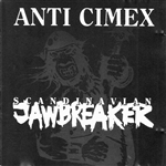 Anti Cimex - Scandinavian Jawbreaker CD Cover Art