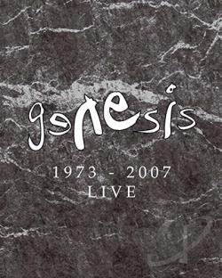 Genesis - Live 1973-2007 CD Cover Art