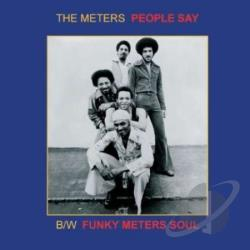 Meters - People Say LP Cover Art
