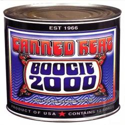 Canned Heat - Boogie 2000 CD Cover Art
