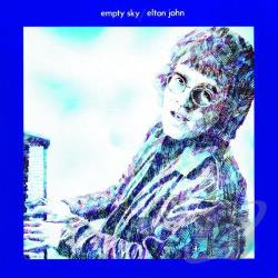John, Elton - Empty Sky CD Cover Art