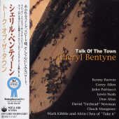 Bentyne, Cheryl - Talk Of The Town CD Cover Art