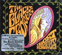 Black Crowes - Lost Crows: Band Sessions CD Cover Art