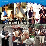 Various Bagpipe Players and Ensembles from Central Europe - Gajdy and Bock / Goat and Billygoat: Bagpipes from Central Europe DB Cover Art
