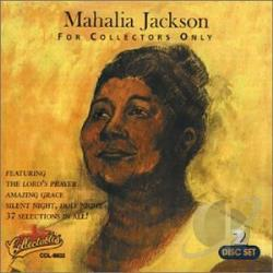 Jackson, Mahalia - For Collectors Only CD Cover Art
