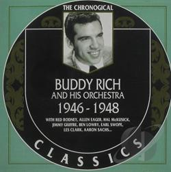 Rich, Buddy & His Orchestra - 1946-1948 CD Cover Art
