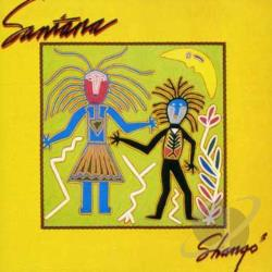Santana - Shango CD Cover Art