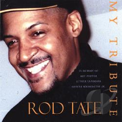 Tate, Rod - My Tribute CD Cover Art