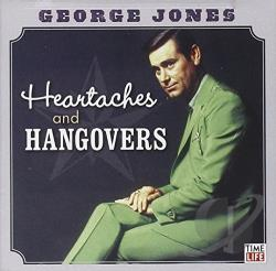 Jones, George - Heartaches and Hangovers CD Cover Art