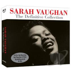 Vaughan, Sarah - Definitve Collection CD Cover Art