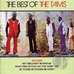 Tams - Best of the Tams CD Cover Art