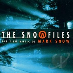 Snow, Mark - Snow Files: Film Music of Mark Snow CD Cover Art