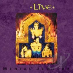 Live - Mental Jewelry CD Cover Art