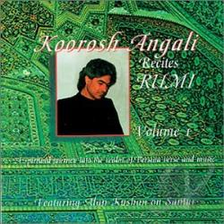 Angali, Koorosh - Koorosh Angali Recites Rumi CD Cover Art