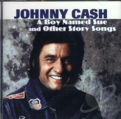 Cash, Johnny - Boy Named Sue And Other Story Songs CD Cover Art