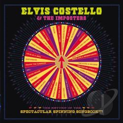 Costello, Elvis & The Imposters - Return Of The Spectacular Spinning Songbook CD Cover Art