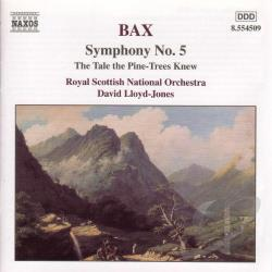 Bax / Lloyd-Jones / Royal Scottish Nat'L Orch - Bax: Symphony 5/Pine-Trees CD Cover Art
