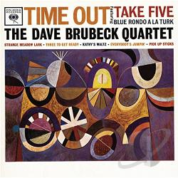 Brubeck, Dave / Brubeck, Dave Quartet - Time Out CD Cover Art