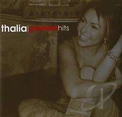 Thalia - Greatest Hits CD Cover Art