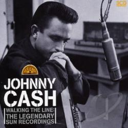 Cash, Johnny - Walking the Line: The Legendary Sun Recordings CD Cover Art