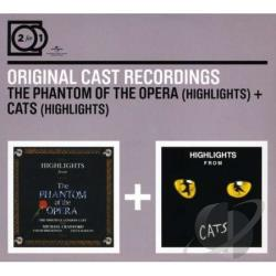 Phantom Of The Opera & Cats CD Cover Art